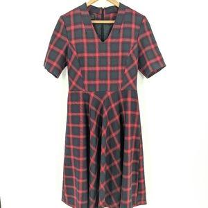 Pendelton | Vintage USA Christmas Plaid Wool Dress